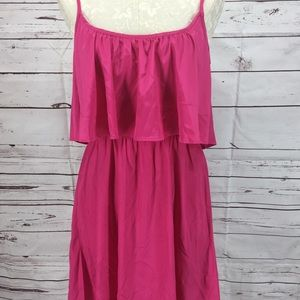 Fun Flirt Pink Spaghetti Strap Dress